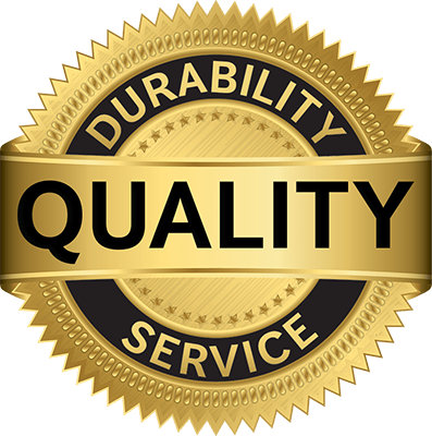 Quality - durability - service